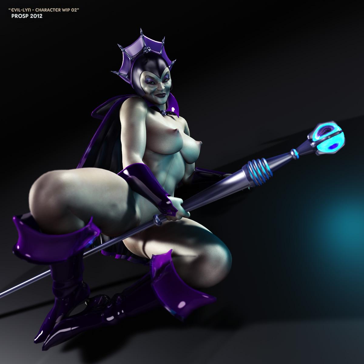 Evil-Lyn WIP 03