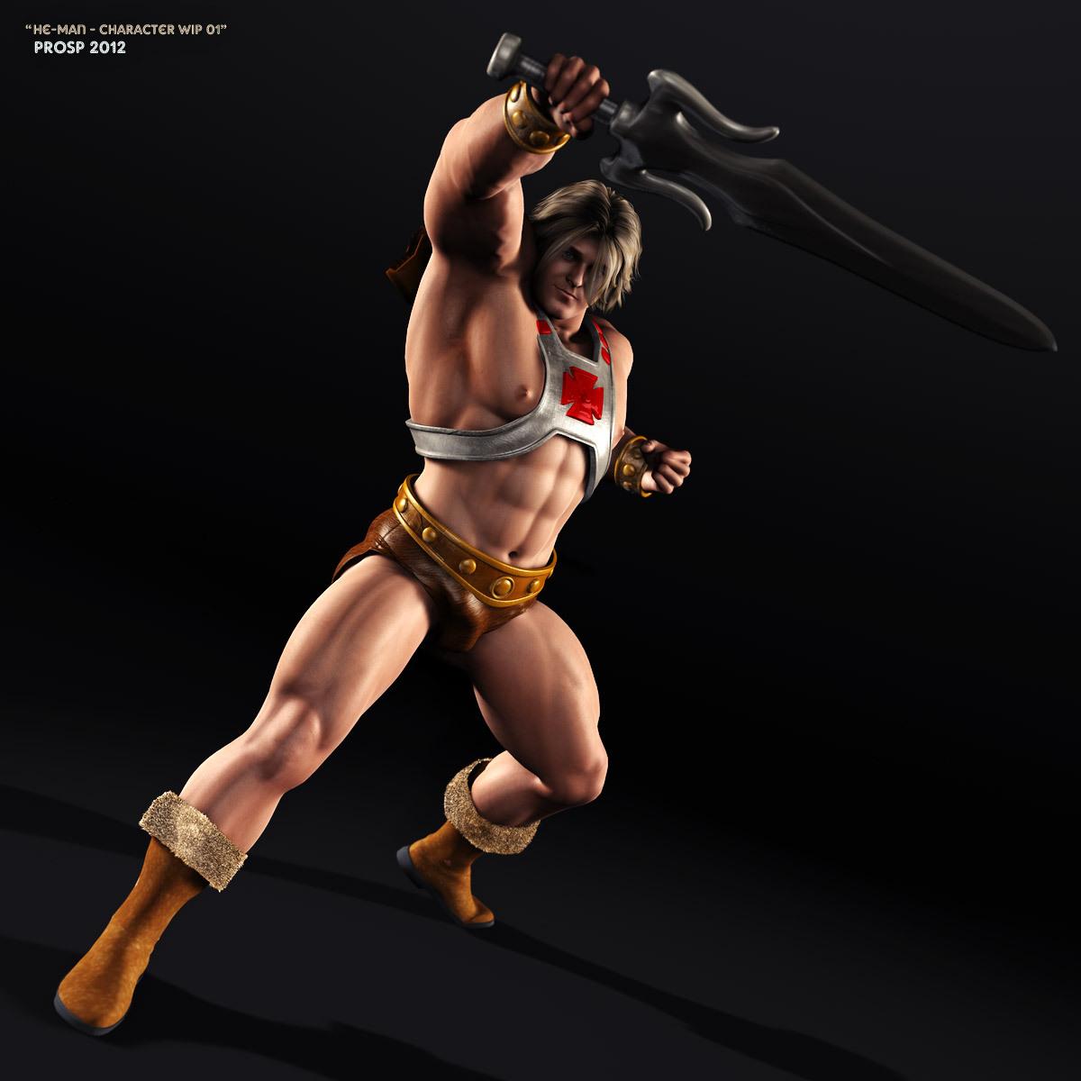 He-Man WIP 01